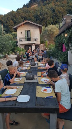 Montefiore dell'Aso, Italia: italian food