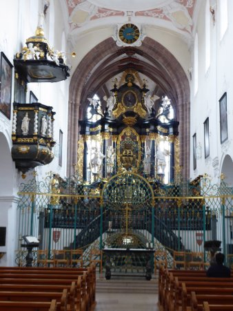 Bad Zurzach, Schweiz: the interior