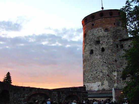 Savonlinna, Finlandia: Näytöksen jälkeen