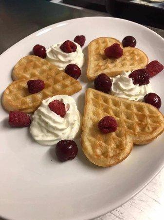 Great Bardfield, UK: Our Valentine's Day Dessert