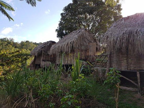 Trois-Ilets, Martinica: village de cases