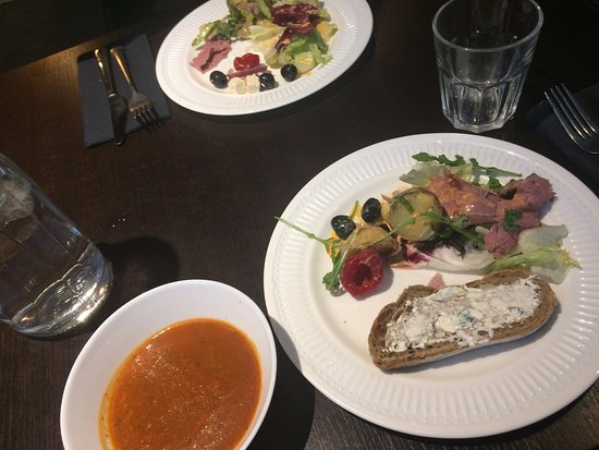 Kuopio, Finland: Starters from the salad buffet
