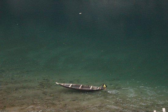 Meghalaya, الهند: THE GREEN RIVER