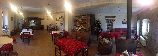 La Salle, อิตาลี: Sala principale per la colazione