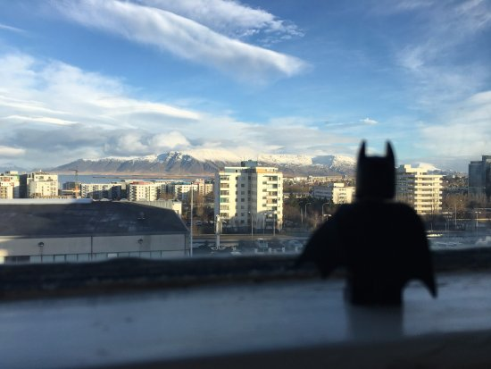 Hotel Orkin: Batman enjoyed the view to !