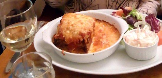 Slaidburn, UK: Lasagne