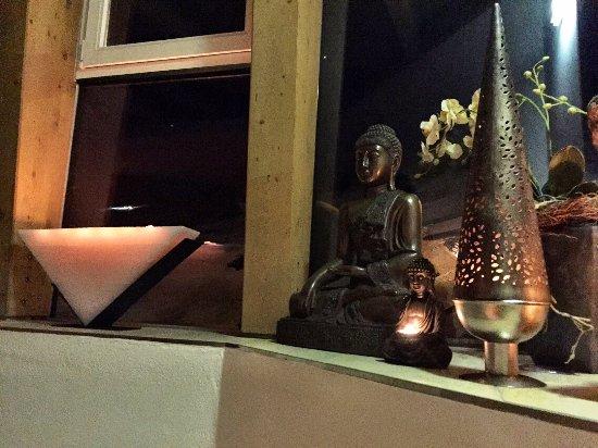 Hochsolden, Austria: Eingang zum Ruheraum