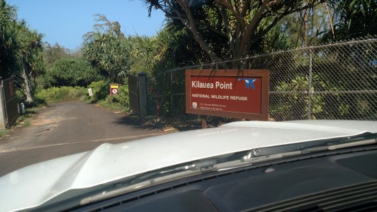 Entrance to Kilauea Point
