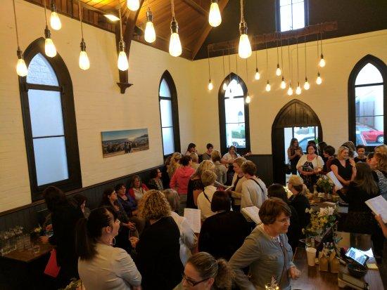 Burnie, Australia: The Chapel in full swing