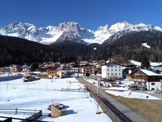 Padola, อิตาลี: Vista sulla Croda Rossa