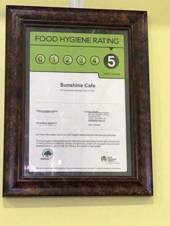 The Sunshine Cafe Worcester Park