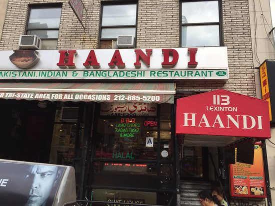 Haandi Restaurant On Lexington Avenue Nyc