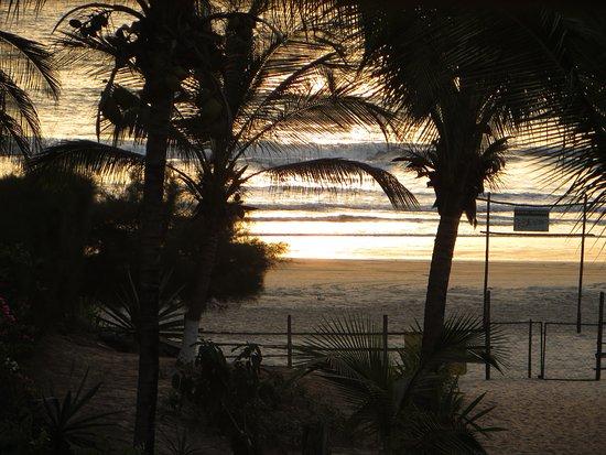 Mansa Lodge: chaque soir un nouveau spectacle du coucher de soleil