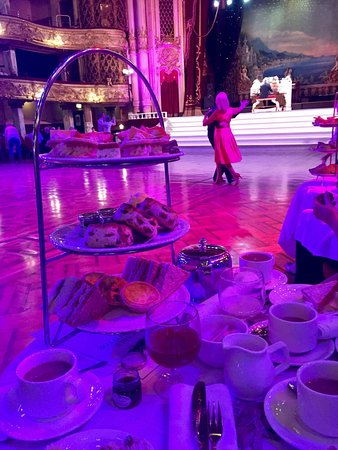 The Blackpool Tower: Afternoon tea dance at the tower ballroom :-)