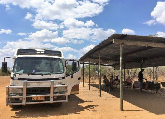 Windhoek, Namibia: ランチタイム、冷たいビールとともに♪