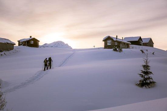 Snowshoeing in Valldal