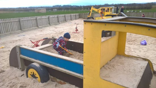 Crosby on Eden, UK: Sand pit