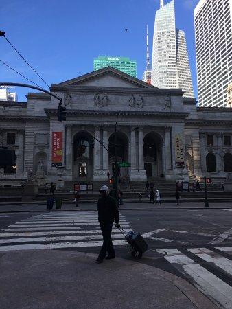 写真ニューヨーク公共図書館枚