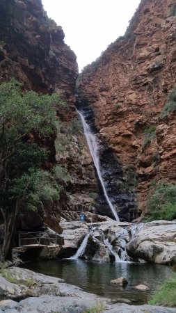 De Rust, Afrique du Sud : The waterfall.