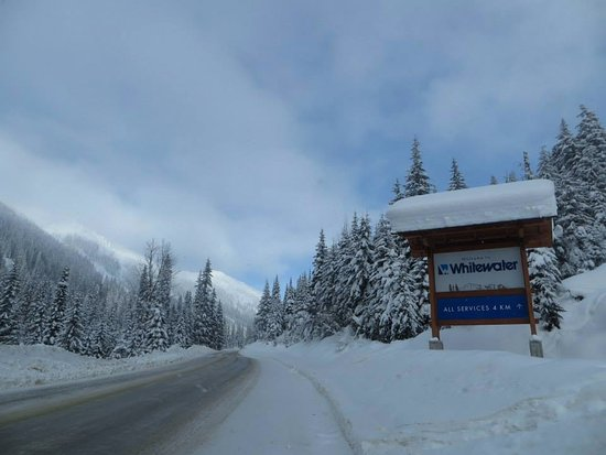 Nelson, Canada: Entrance to Whitewater Ski Resort