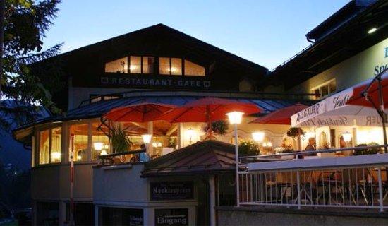 Riezlern, Austria: Terrasse