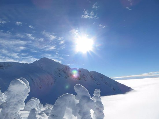 Nelson, Canada: Ymir Peak above the Clouds
