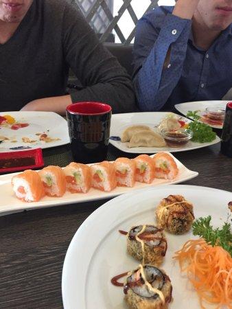 Одерцо, Италия: Sono un'amante del sushi e ho provato molti ristoranti. ristorante molto accogliente, personale