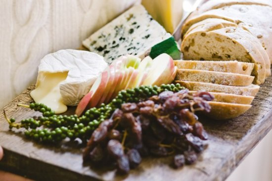 Madison, FL: Enjoy our deluxe cheese plate. Featuring the finest non-GMO cheeses from Wainwright Creamery.