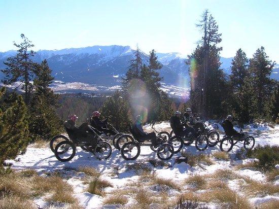 Arzens, Prancis: Paysage en randonnée QBX Quadbike