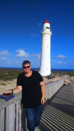 Cape Nelson Lighthouse Cottages: Enjoying the view