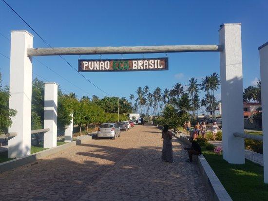 Barra De Punau : Entrada da fazenda