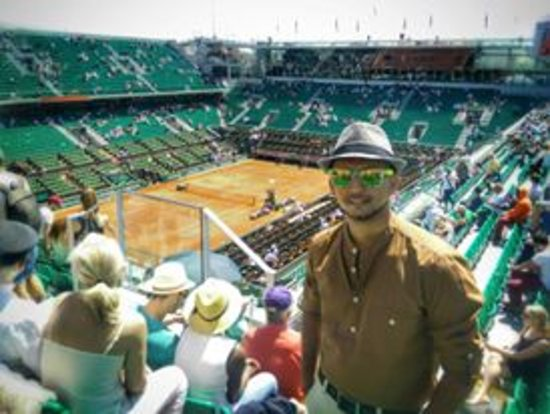 Stade Roland Garros: Center Court