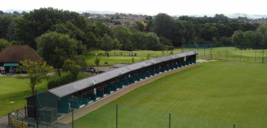 The Driving Range at Burgess Hill Golf Centre