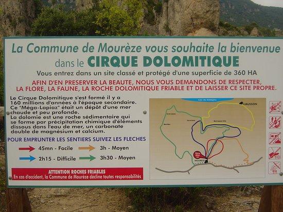 Moureze, Frankrike: Cirque de Mourèze