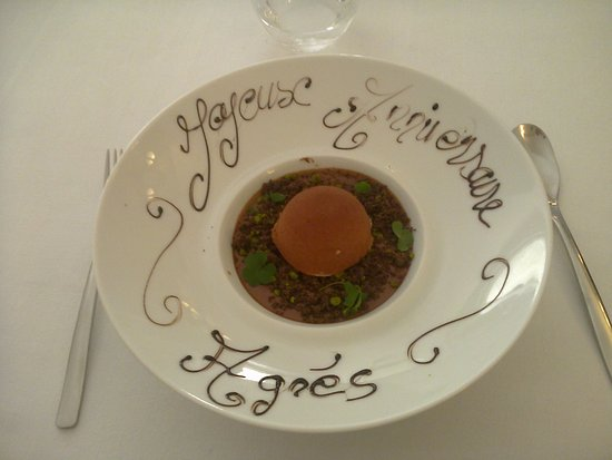 Malataverne, France: Truffe chocolat Valrhôna