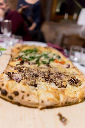 Fermata Spuligni: pizza a metro....