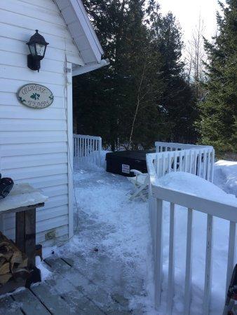 Saint-Romain, Canadá: Chalet quatres-temps