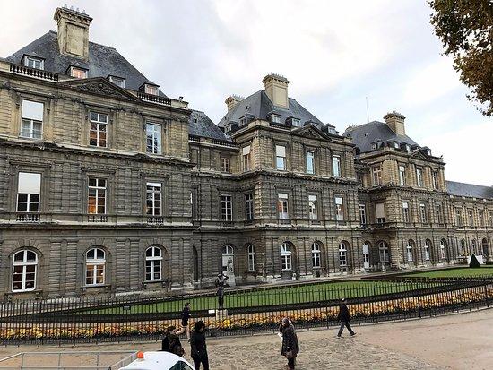 Palais du Luxembourg : Visuale del palais