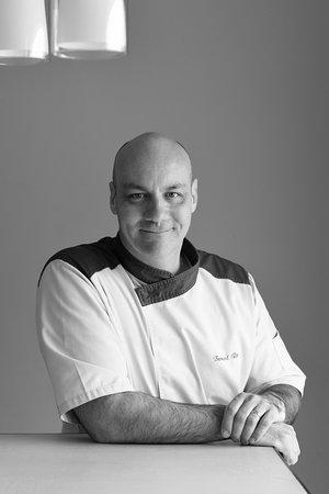 notre chef de cuisine, bernard roth - picture of la table - la