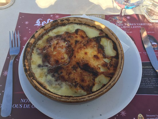 Auron, Frankrig: LA tartiflette !!