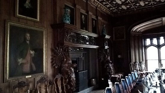 Duns, UK: The fireplace in the dining room.