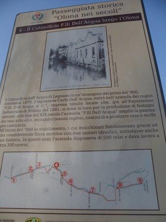 Ponte Cotonificio dell'Acqua sull'Olona