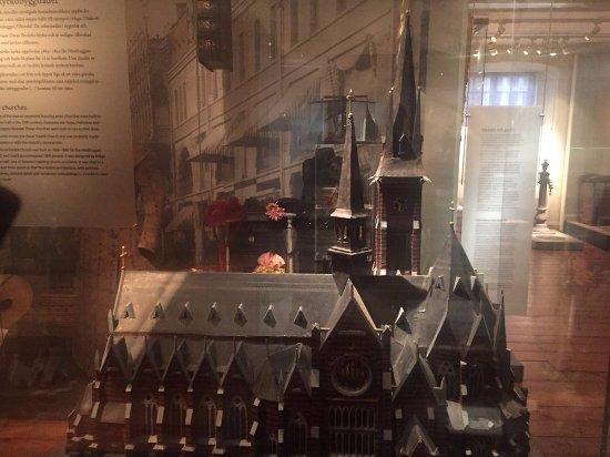 City Museum (Goteborgs Stadsmuseum): Gothic church model