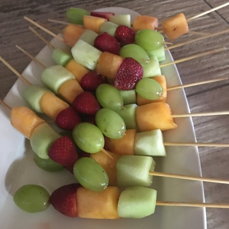 Chartwell, South Africa: Snacks at tea break during a conference