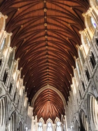 Cobh, Ireland: Incredible ceiling.