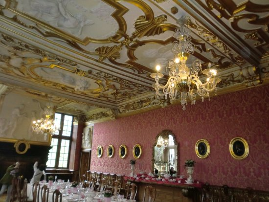Chateau de Modave : ダイニングルーム