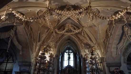 Sedlec, Τσεχική Δημοκρατία: Interior do ossuário