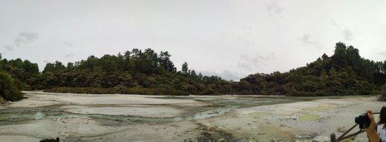 Wai-O-Tapu Thermal Wonderland: Panoramic view