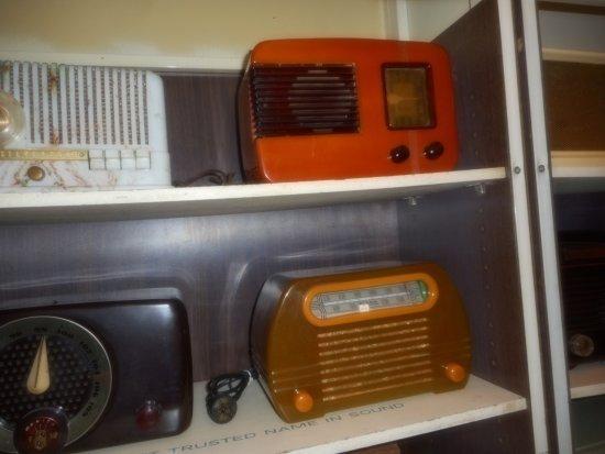 Huntington, Wirginia Zachodnia: art deco radios