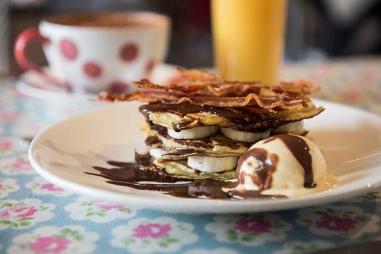 Kelso, UK: Pancakes